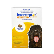 Interceptor Spectrum Chews For Dogs - 11 to 22kg