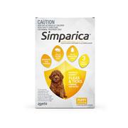 Simparica Chewables Flea & Tick Preventive for Dogs