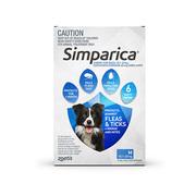Simparica Chewables Flea & Tick Preventive for Medium Dogs